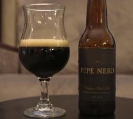 Pepe Nero in the Glass