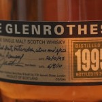 The Glenrothes 1995, In Time for Burns Night
