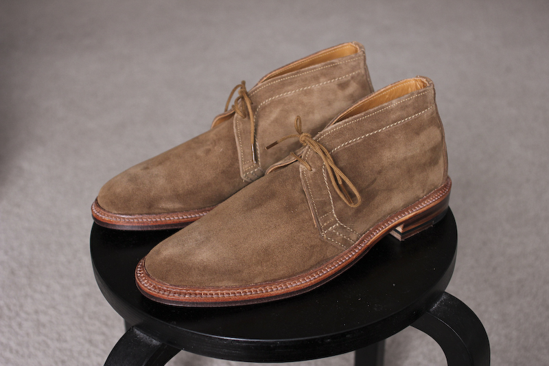 Alden Snuff Suede Chukkas - My Latest Indulgence - Simply Refined